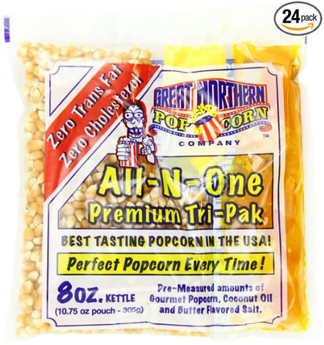 Popcorn Oil and Salt in One