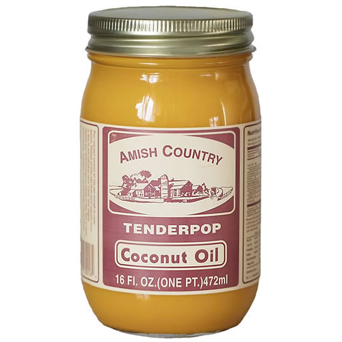 amish country tenderpop coconut oil
